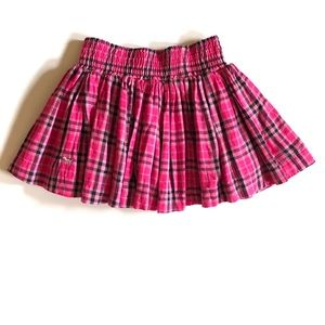 Victoria's Secret PINK Plaid Pink Mini Skirt NWT